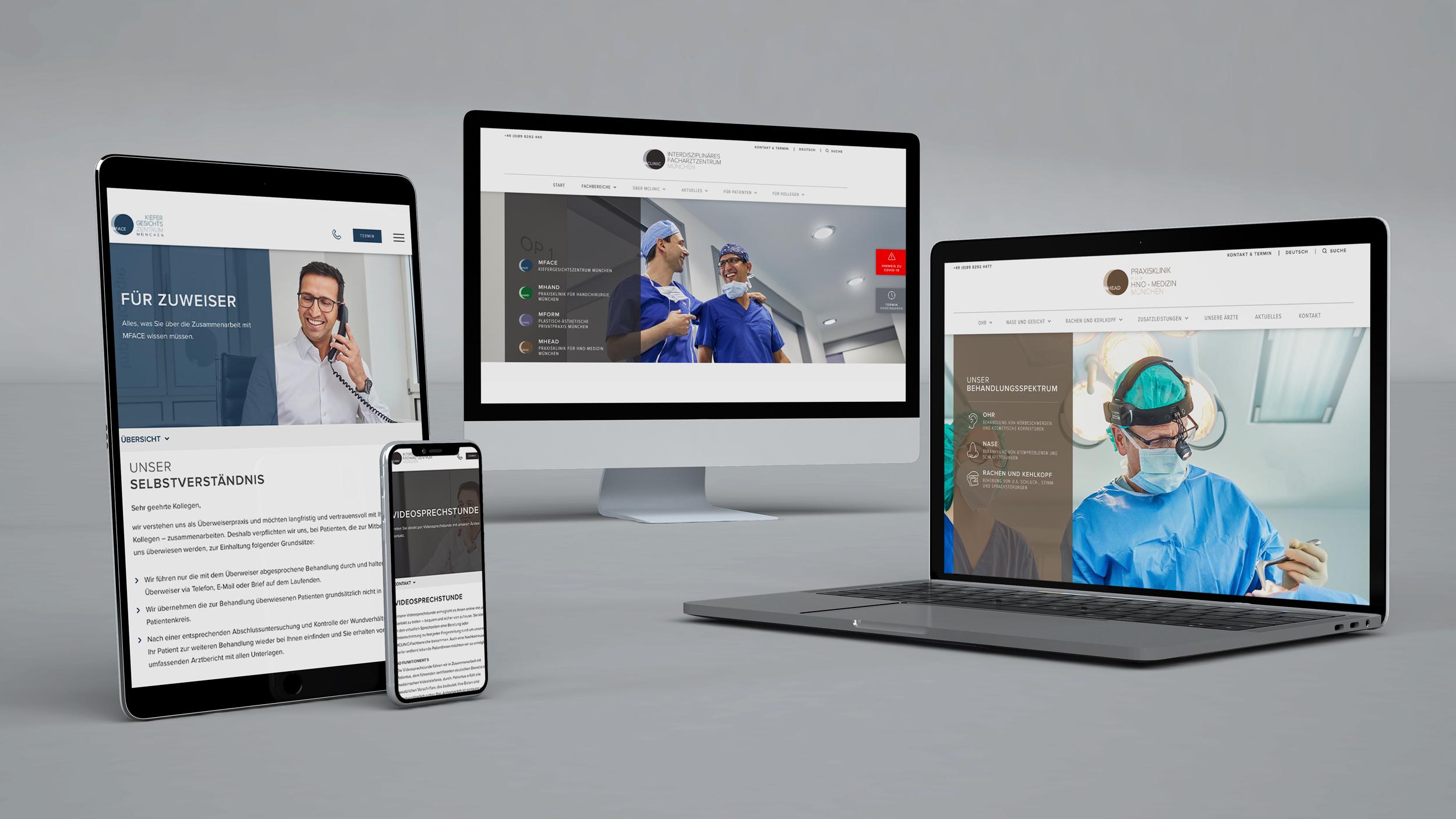 Seit Kurzem erstrahlt die MCLINIC-Webseite in einem komplett neuen Design.